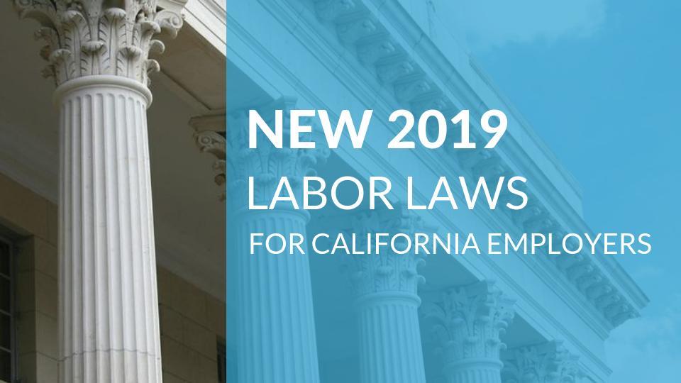 California labor laws dating